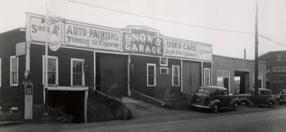 Historic Photo Of Framingham, MA Auto Repair Shop - Snow's Garage